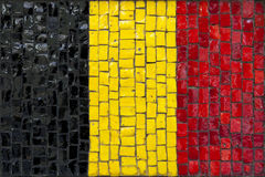 Mosaic flag of German Stock Image