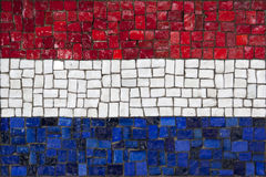 Mosaic flag of Netherland Royalty Free Stock Photography