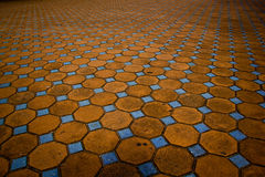 Mosaic on floor Royalty Free Stock Photography