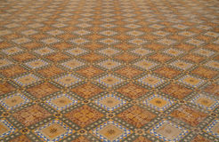Mosaic Floor Stock Photo