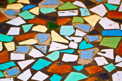 Mosaic floor Stock Images
