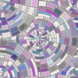 Mosaic floor. Abstract geometric background. Natural pattern royalty free illustration