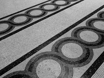 Mosaic floor Stock Photography