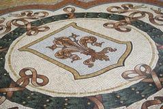 Mosaic floor Royalty Free Stock Photography