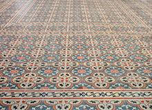 Mosaic  floor Royalty Free Stock Image