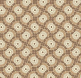 Vector mosaic floor, stone background pattern Stock Photo