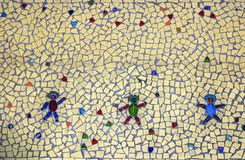 Mosaic Floor Tile Stock Images