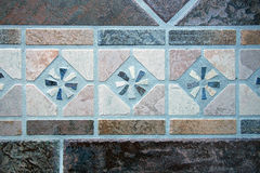 Mosaic of Floor Tiles Stock Photography