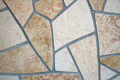 Mosaic of Floor Tiles Royalty Free Stock Photos