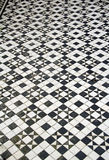 Mosaic floor tiles pattern Royalty Free Stock Images