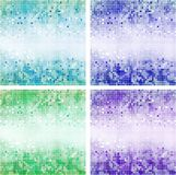 Mosaic in the form of squares Stock Images