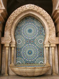 Mosaic and Fountain. Morocco stock photography