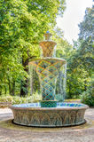 Mosaic fountain in Dresden Stock Images