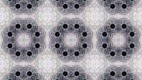 Mosaic fractal geometric kaleidoscopic stock video
