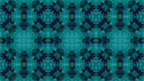 Mosaic fractal geometric kaleidoscopic stock video footage