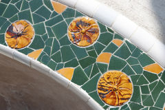 Mosaic fragment Royalty Free Stock Photos
