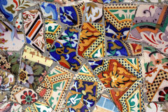 Mosaic fragment Royalty Free Stock Photo