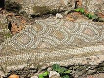Mosaic fragment in Olympos, Turkey Royalty Free Stock Photos