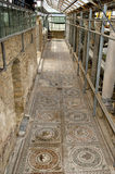 Mosaic fragment Roman Villa Romana del Casale Royalty Free Stock Photography