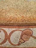 Mosaic fragment. shell Royalty Free Stock Photography