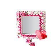 Mosaic frame Stock Photography