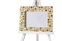 Mosaic frame Royalty Free Stock Images
