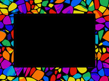 Mosaic Frame Royalty Free Stock Photography