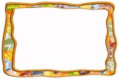 Mosaic Frame Stock Image