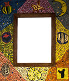 Mosaic Frame. The Mosaic Frame for any picture and word Royalty Free Stock Photo