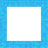 Mosaic Frame Blue. For your design Royalty Free Stock Photo