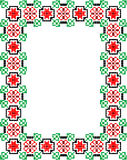 Mosaic Frame Royalty Free Stock Photography