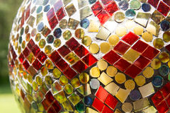 Mosaic Garden Feature Royalty Free Stock Photography