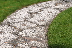 Mosaic Garden Path Royalty Free Stock Images