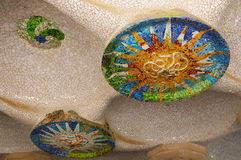 Mosaic by Gaudi Stock Image