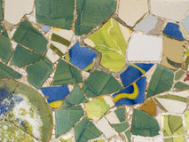 Mosaic by Gaudi Stock Photography