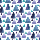 Mosaic geometric background. Watercolor seamless pattern. Mosaic geometric background. Hand drawn pattern. Modern abstract wallpaper vector illustration