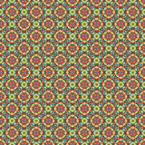 Mosaic geometric pattern in repeat. Fabric print. Seamless background, mosaic ornament, ethnic style. Design for prints on fabrics, textile, covers, paper Royalty Free Stock Image