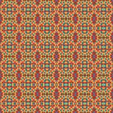 Mosaic geometric pattern in repeat. Fabric print. Seamless background, mosaic ornament, ethnic style. Design for prints on fabrics, textile, covers, paper Royalty Free Stock Photography
