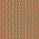 Mosaic geometric pattern in repeat. Fabric print. Seamless background, mosaic ornament, ethnic style. Design for prints on fabrics, textile, covers, paper Stock Photo