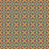 Mosaic geometric pattern in repeat. Fabric print. Seamless background, mosaic ornament, ethnic style. Design for prints on fabrics, textile, covers, paper Stock Photography