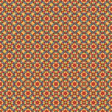 Mosaic geometric pattern in repeat. Fabric print. Seamless background, mosaic ornament, ethnic style. Design for prints on fabrics, textile, covers, paper Stock Image
