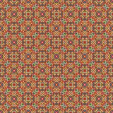 Mosaic geometric pattern in repeat. Fabric print. Seamless background, mosaic ornament, ethnic style. Design for prints on fabrics, textile, covers, paper Royalty Free Stock Images