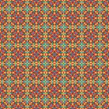 Mosaic geometric pattern in repeat. Fabric print. Seamless background, mosaic ornament, ethnic style. Design for prints on fabrics, textile, covers, paper Royalty Free Stock Photo