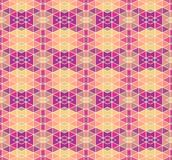 Mosaic geometric pattern_5. Seamless vector pattern.  Perfect for wallpaper design, textile design or anyone another your design idea Royalty Free Stock Images