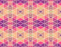 Mosaic geometric pattern_1. Seamless vector pattern.  Perfect for wallpaper design, textile design or anyone another your design idea Royalty Free Stock Photos