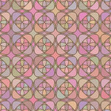 Mosaic geometric seemless pattern Royalty Free Stock Photography