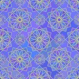 Mosaic geometric seemless pattern Stock Photo
