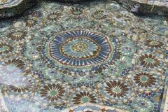 Mosaic Geometry pool Royalty Free Stock Image