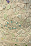 Mosaic glass abstract Stock Photo