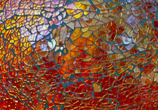 Mosaic Glass Royalty Free Stock Photo